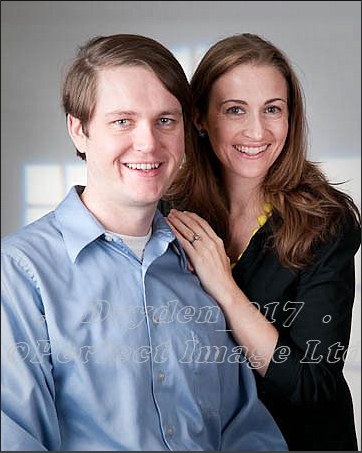 Dan and Jessica, August 2009
