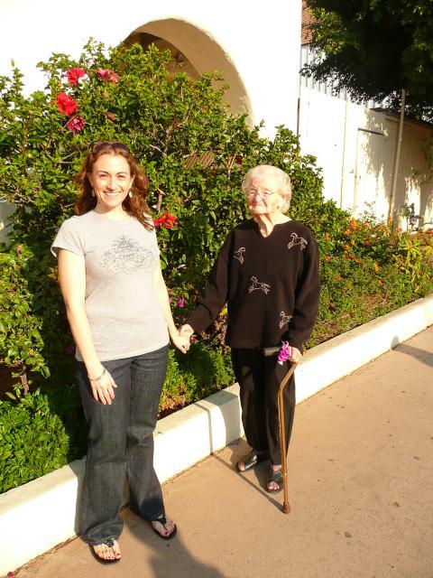 Jessica and Grandma