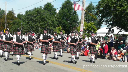 bagpipers in the 2009 Lakewood Independance Day parade by Jessica Dryden-Cook